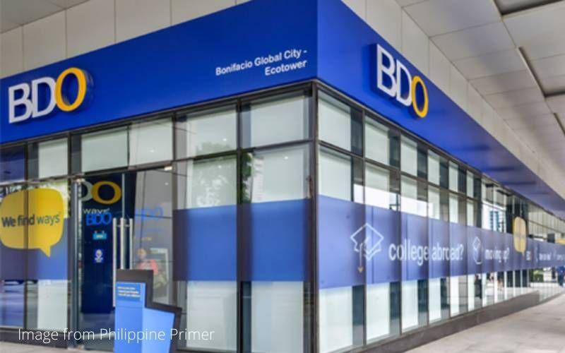 saving account bank - Banco de Oro