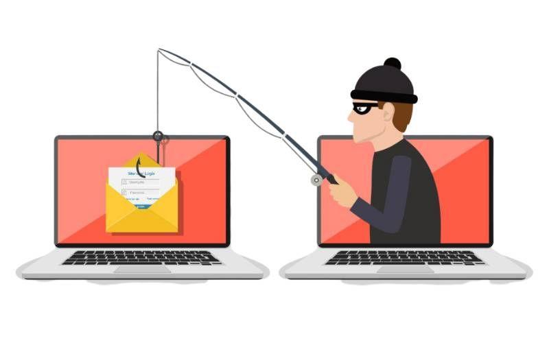 Phishing - online scams